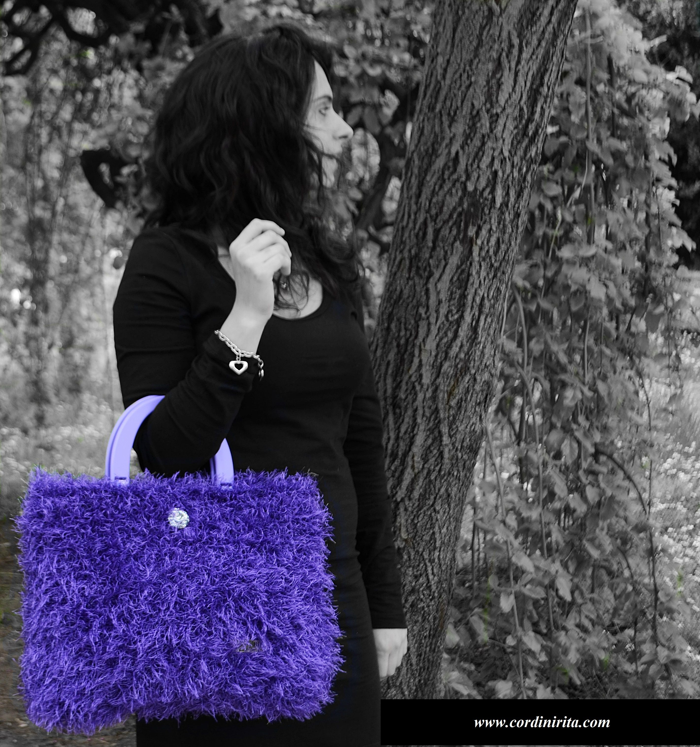 Hollywood Handbag - Italian Excellence and creativity - Handmade in Italy  www.cordinirita.com