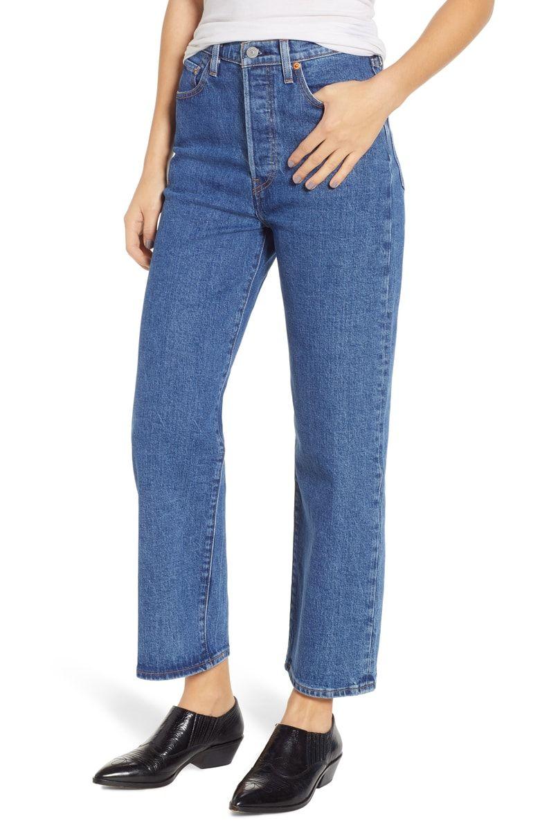 d965d2c4c8611 Levi's® Ribcage Super High Waist Straight Leg Jeans (Georgie ...