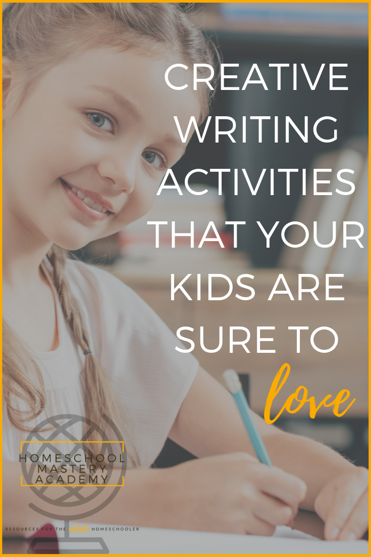Creative Writing Activities That Your Kids Are Sure To Love