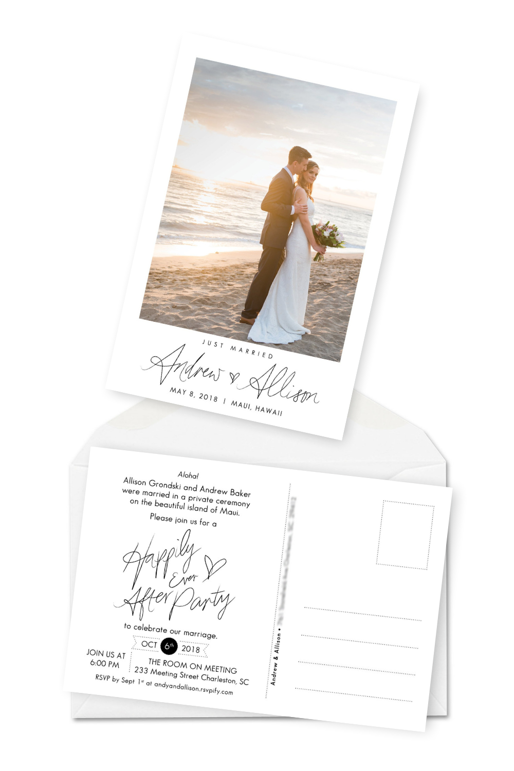 10 Elopement Announcement Wording Ideas and Examples | Wedding