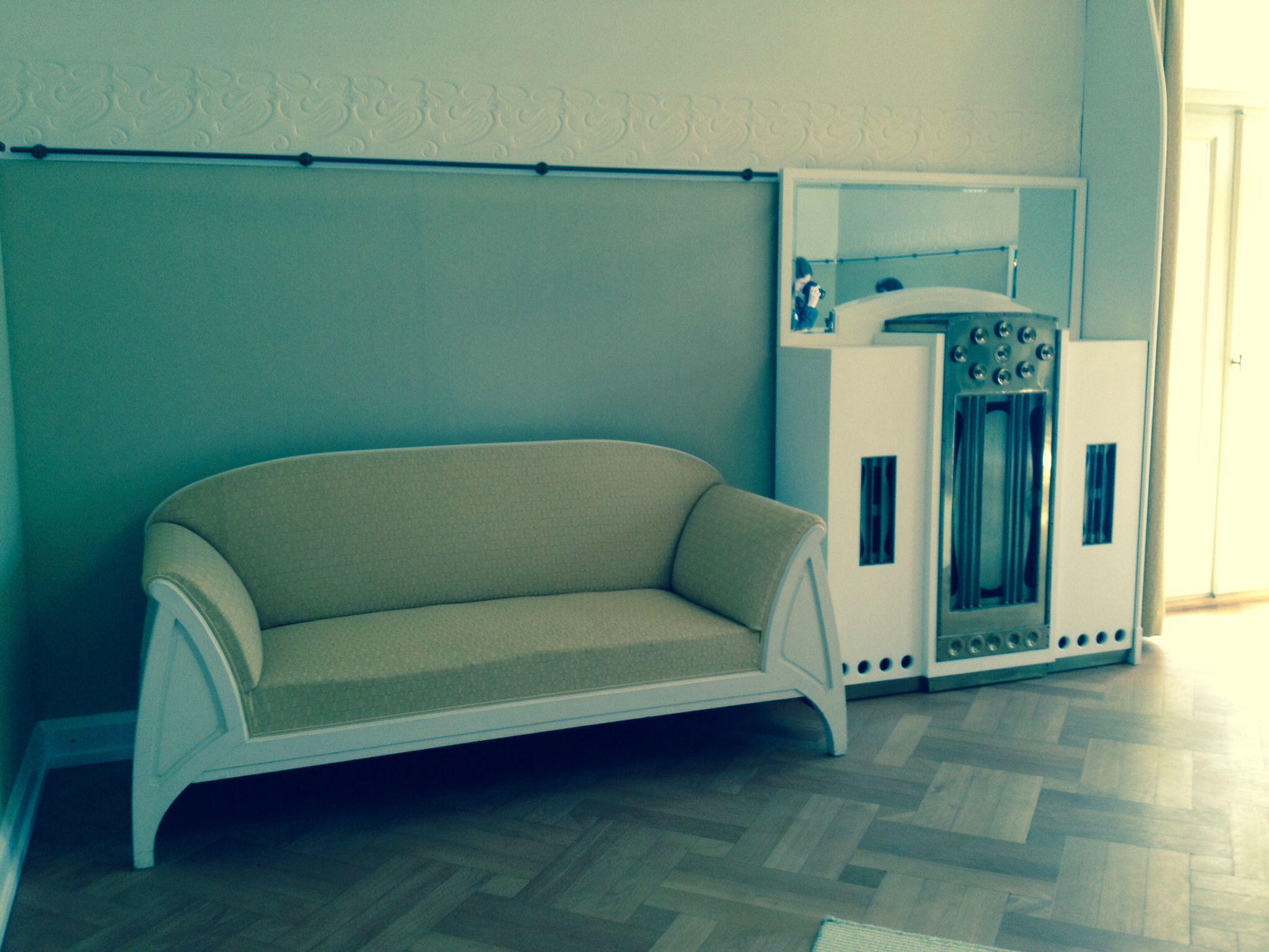 Villa Esche, Chemnitz. Love seat