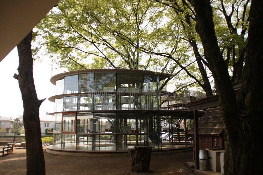 Trees around buildings google zoeken architectuur for Architect zoeken
