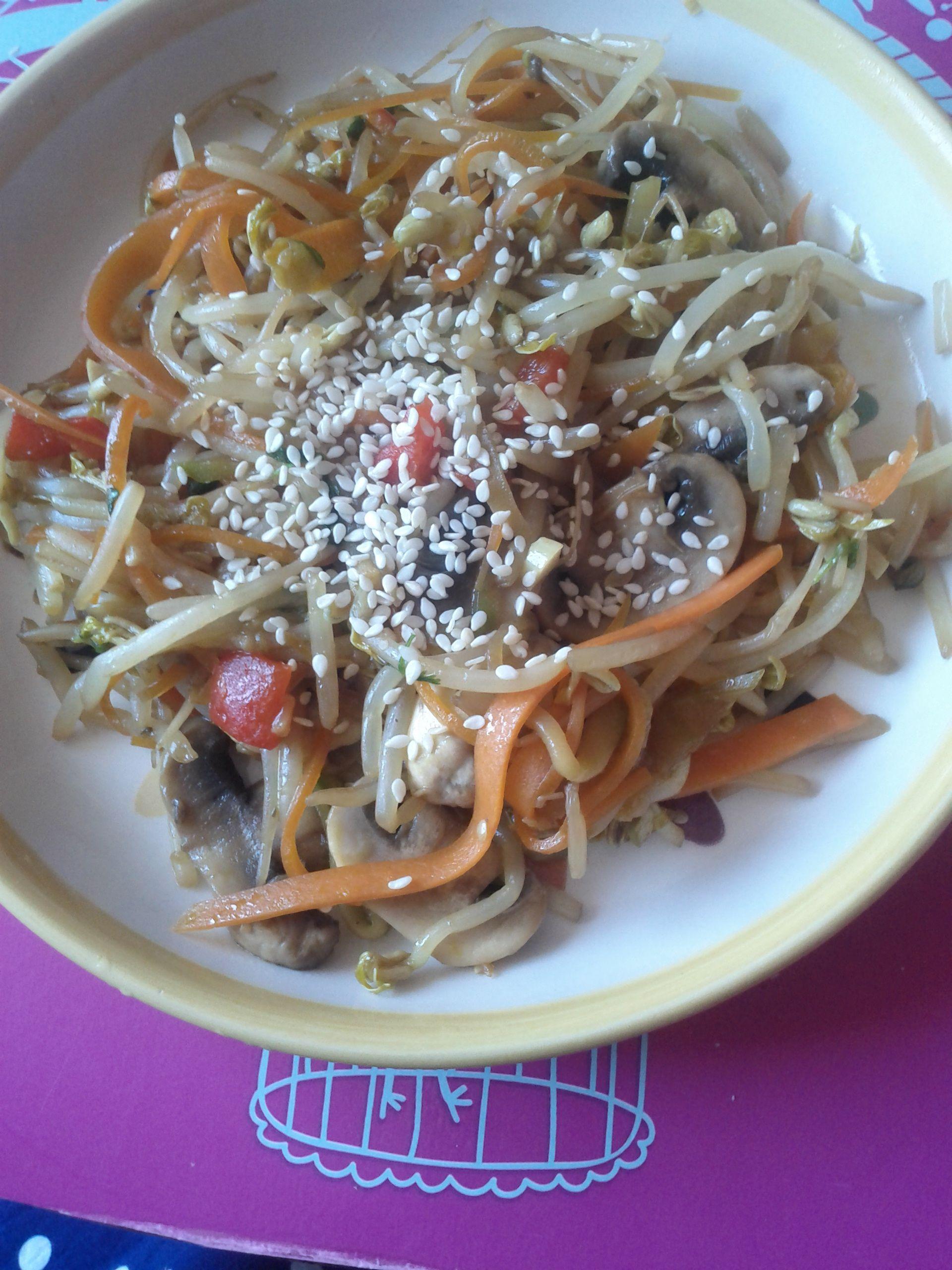 plato con un aire chino
