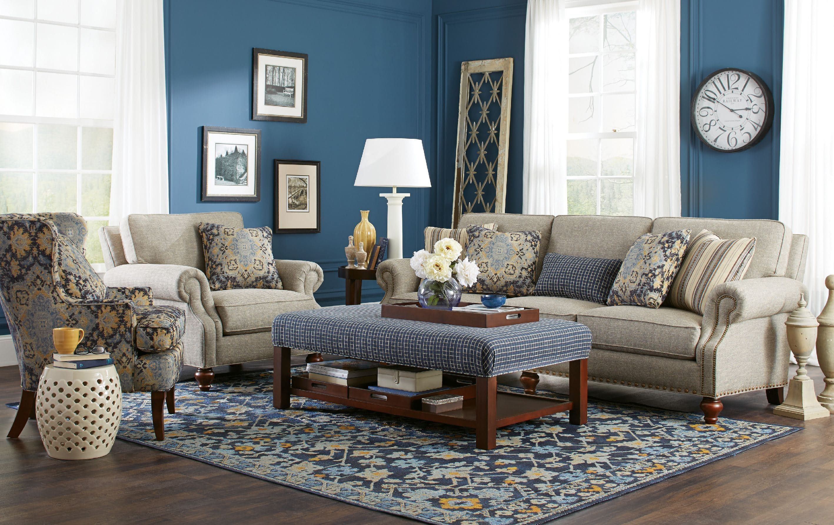 Elegant Craftmaster Living Room Sofa 762350   Tyndall Furniture Galleries, INC    Charlotte, Mooresville, Pineville NC And Fort Mill, SC