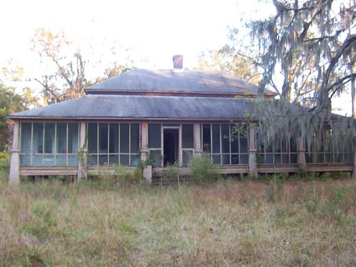 Abandoned house, Cane Gully Rd, Moncks Corner, SC  The Town