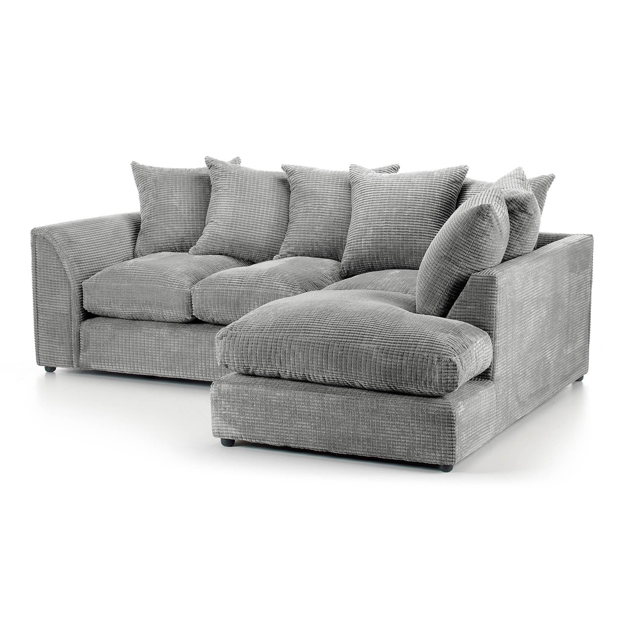 Denver Grey Right Hand Corner Sofa In 2020 Corner Sofa Corner Sofa Next Sofa