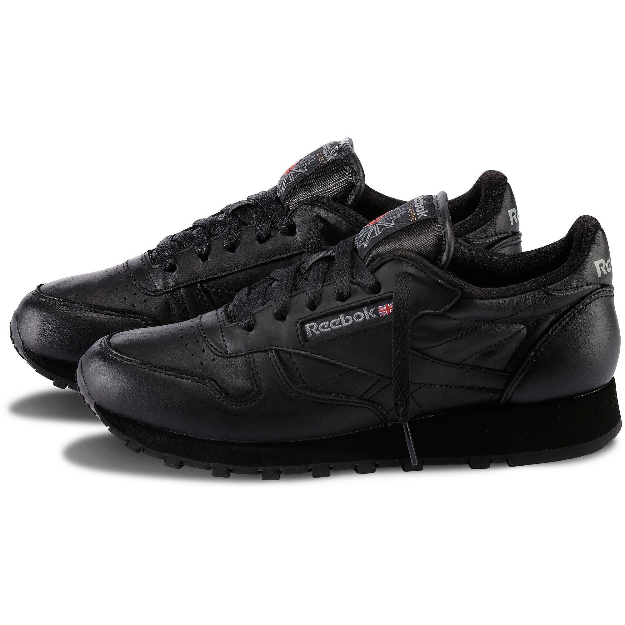 Reebok classic leather black, Reebok