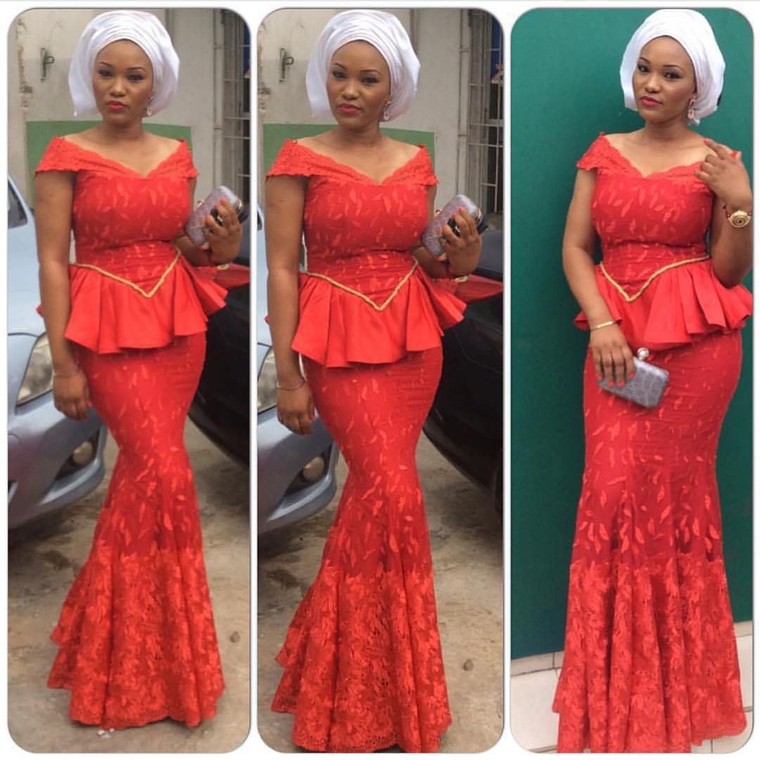 #alliwantforxmas- Trending Aso Ebi types From The Hottest ...