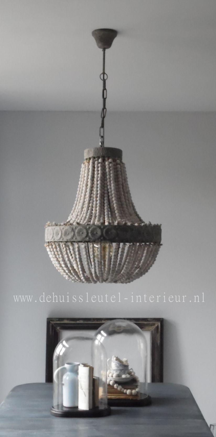 Kralenlamp, kroonluchter | Verlichting | Pinterest