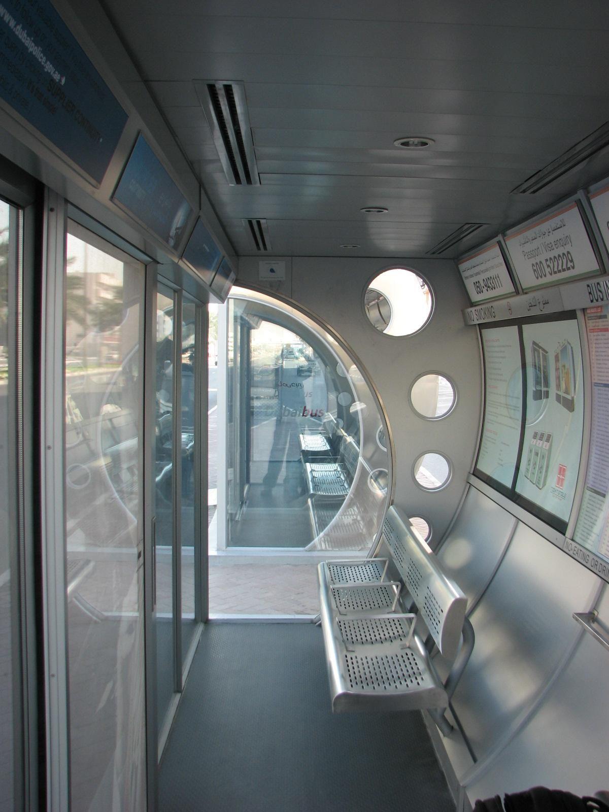 您从未见过的世界独特巴士站!看了之后真的不敢相信这些都是巴士站啊!