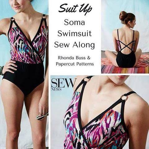 eb7888bef8556 Rhonda s Creative Life  The Papercut Patterns Soma Swimsuit Sew  Along Adding Bra Cups