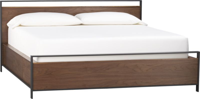 we need a bed like this bowery king storage bed crate and barrel