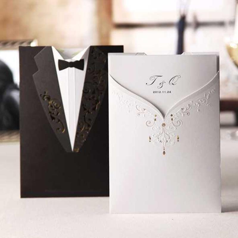 Black And White Wedding Invitation W-day Pinterest Weddings - best of wedding invitation card ideas pinterest