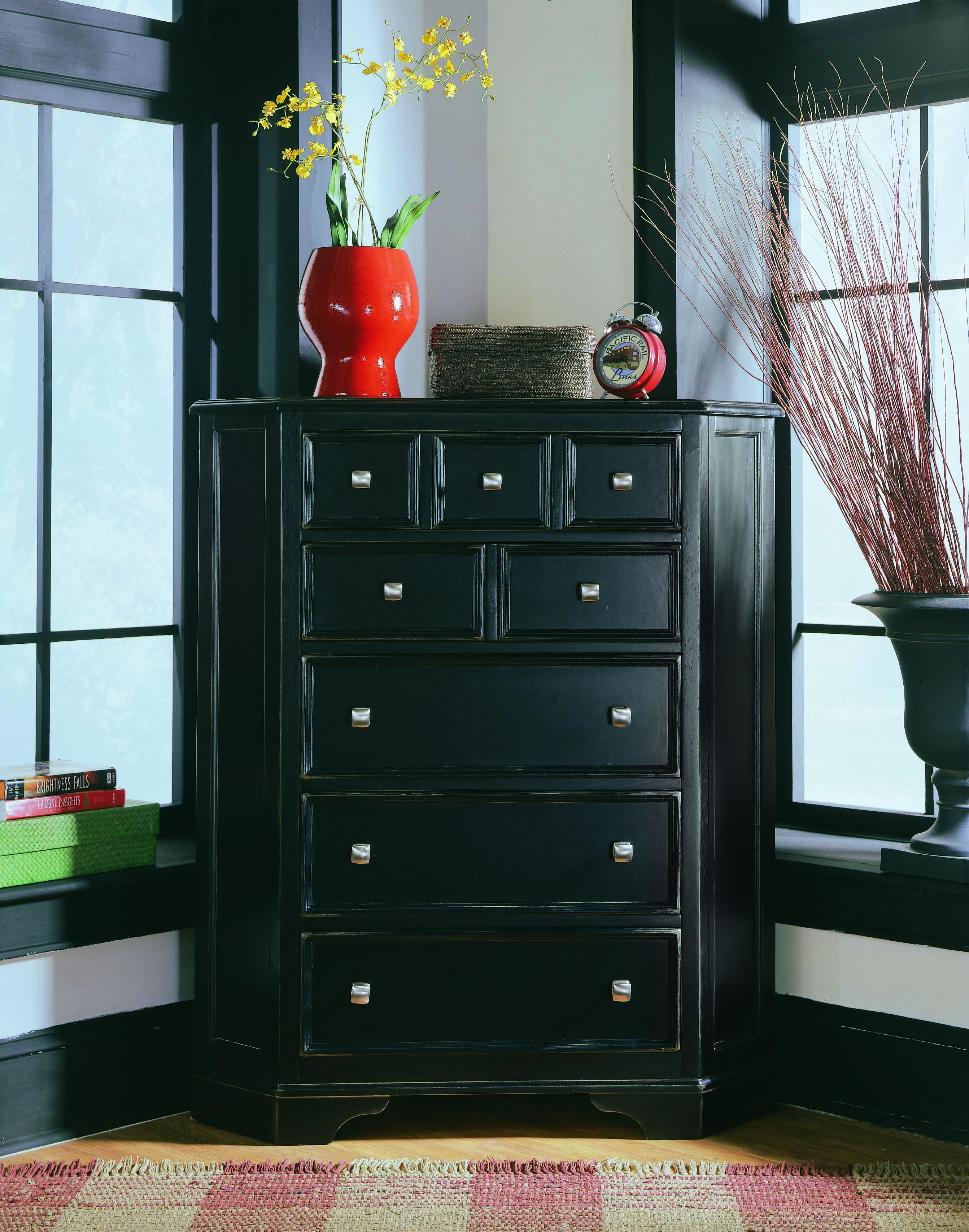 Camden Black Bedroom - CORNER CHEST #furniture #bedroomsuite ...