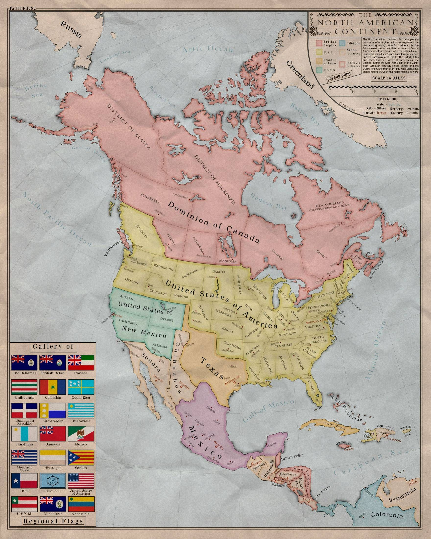 An alternate history map of north america 1760x2200 history 1 an alternate history map of north america freerunsca Image collections