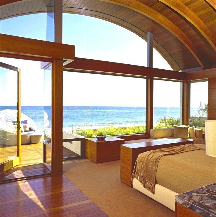 Gorgeous beach home bedroom ocean view.   Dream Beach Homes ... on