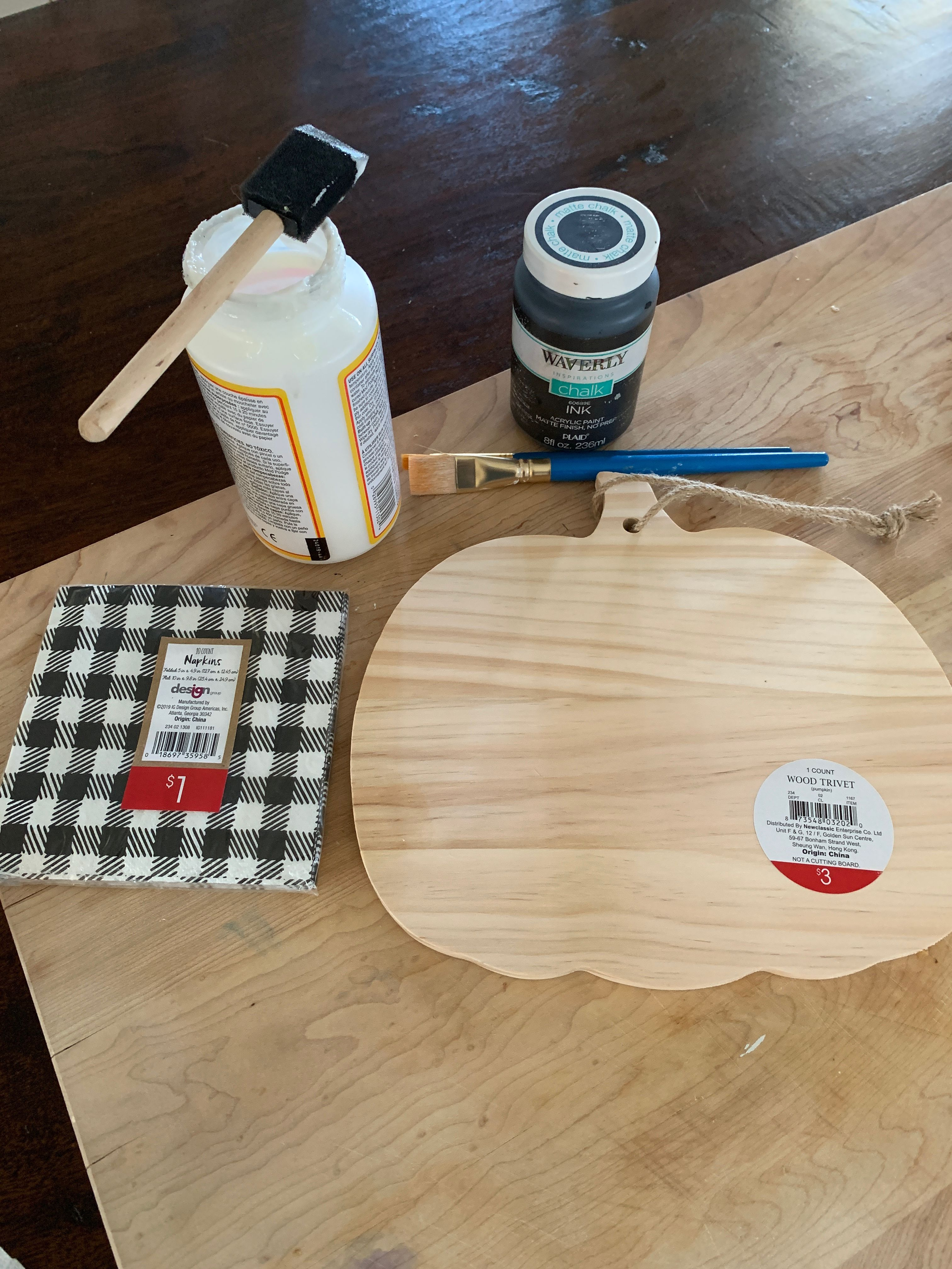 5 fall craft ideas using buffalo check! | Wilshire Collections
