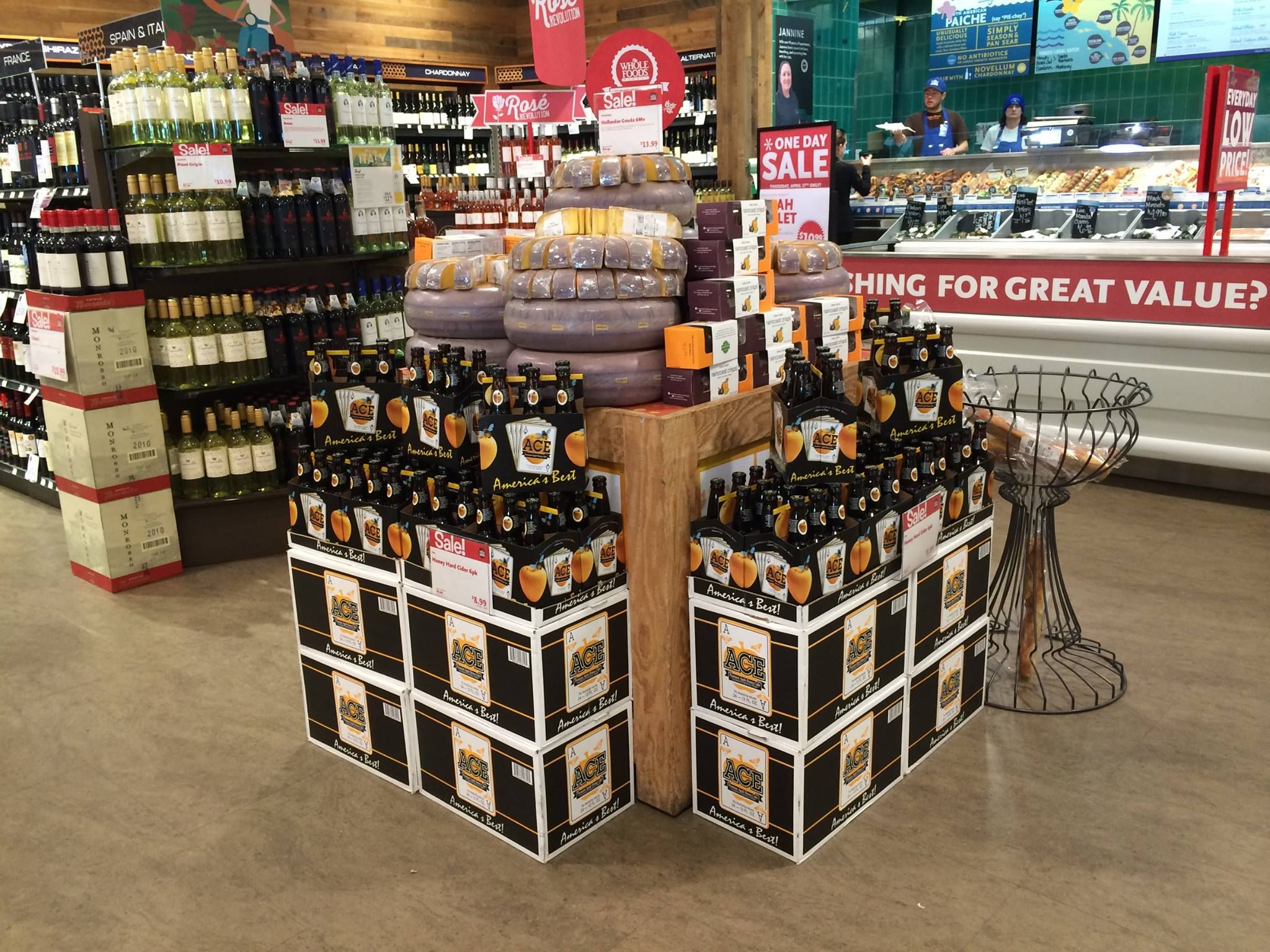 Check out this awesome display at the whole foods in la