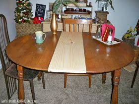 A New Leaf For Our Dining Table Table Leaf Diy Diy Dining Room