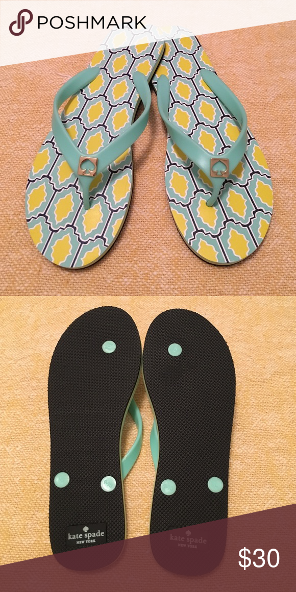 Brand New Kate Spade Flip Flops KATE SPADE BRAND NEW NEVER WORN FLIP FLOPS, ADORABLE  kate spade Shoes