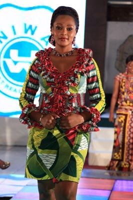 pagne,ivoirien,uniwax Model Pagne Africain, Robes De Dame, Style Africain,