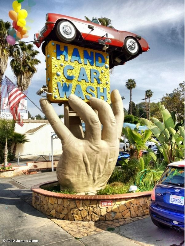 Over The Top Car Wash Sign Literally Car Wash Sign City Car Studio City