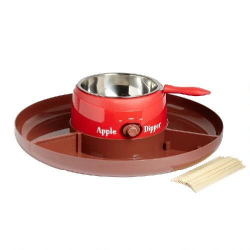 One of my favorite discoveries at ChristmasTreeShops.com: Nostalgia Electrics™ Candy Apple Dipper Tray