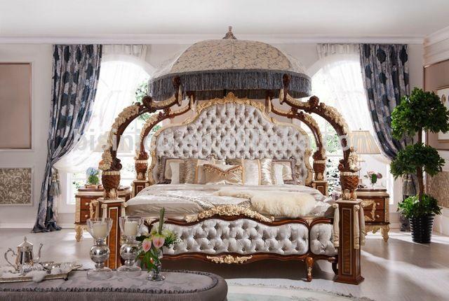 40aced254c88 Italiano rococó francés muebles de dormitorio de lujo
