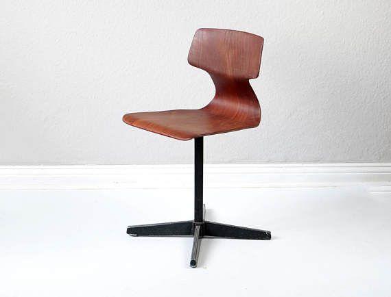 Vintage Kinderstuhl Pagholz Holland Galvanitas Stuhl Holz - küchenstuhl weiß holz
