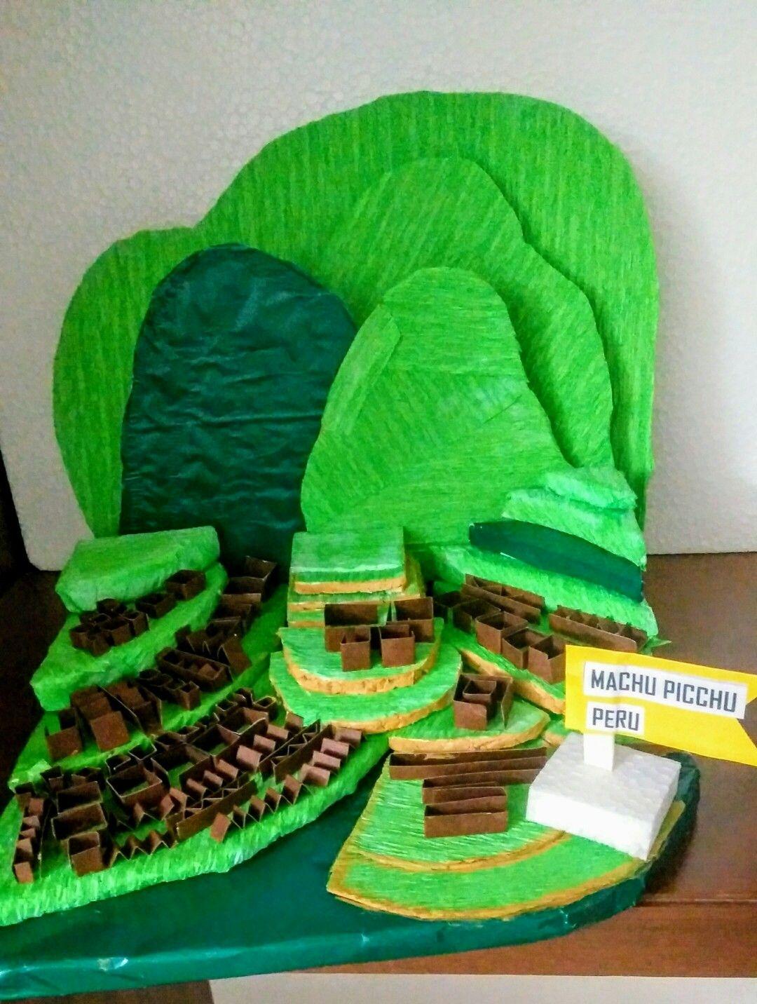 School Project Machu Picchu
