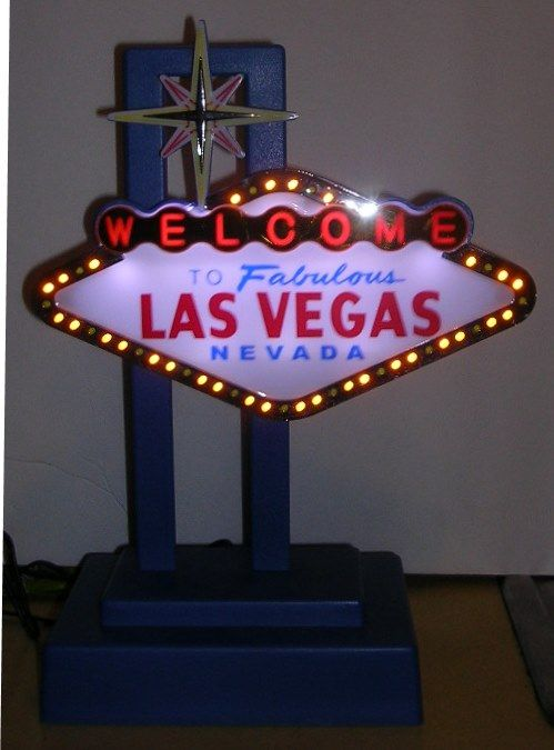 Light Up Las Vegas Lamp Garage 2