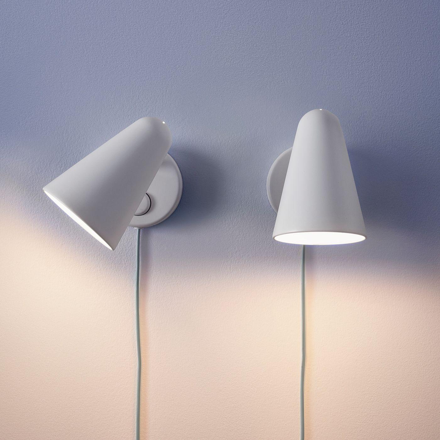 Fubbla Wandleuchte Led Weiss Ikea Osterreich In 2020 Led Wall Lamp Wall Lamp Ikea Wall Lights
