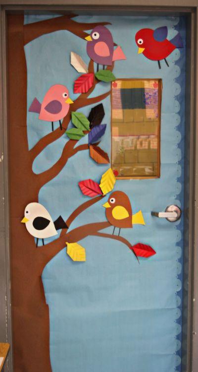 Spring Classroom Door Ideas Spring My Board Pinterest
