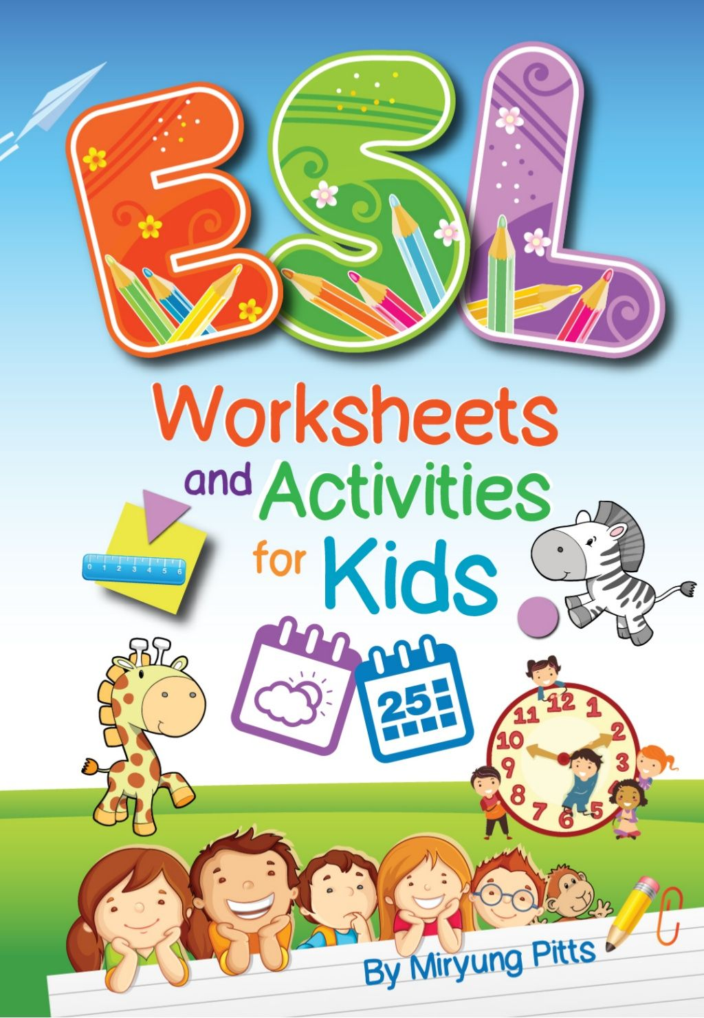 ESL Worksheets and Activities for Kids   lesson plan book   Pinterest