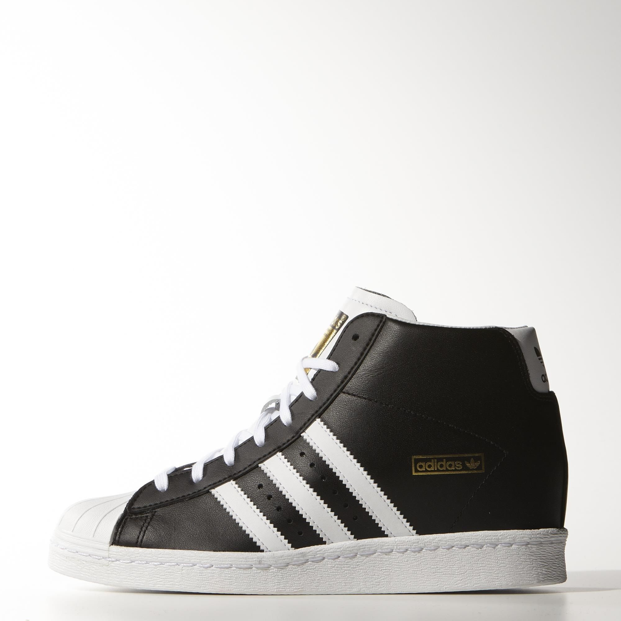 Shop for Women\\u0026#39;s Superstar Up Shoes - Gold at adidas