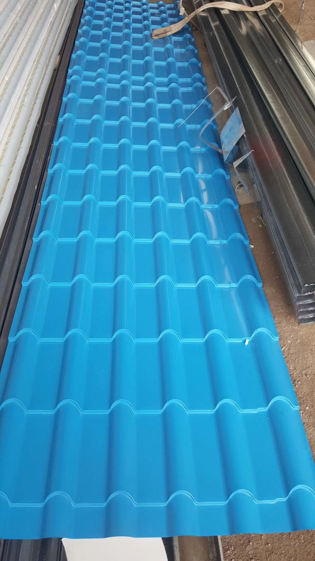 Corrugated Prepainted Aluminum Sheet Aa1100 H24 Wechate Whatsapp 8615254382836 Roofing Sheets Roofing Aluminium Sheet
