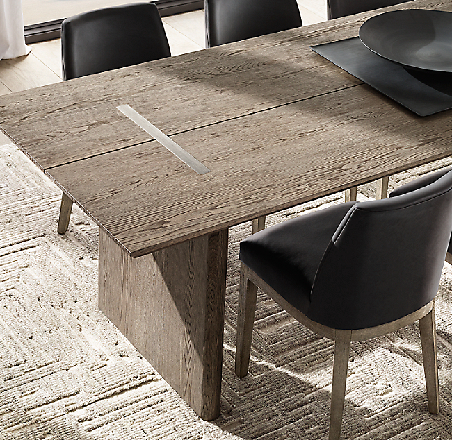 Balmain Oak Rectangular Extension Dining Table In 2020 Dining