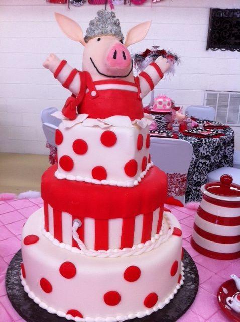 Wondrous Olivia The Pig Cake Pig Birthday Cakes Piggy Cake Cake Designs Personalised Birthday Cards Vishlily Jamesorg