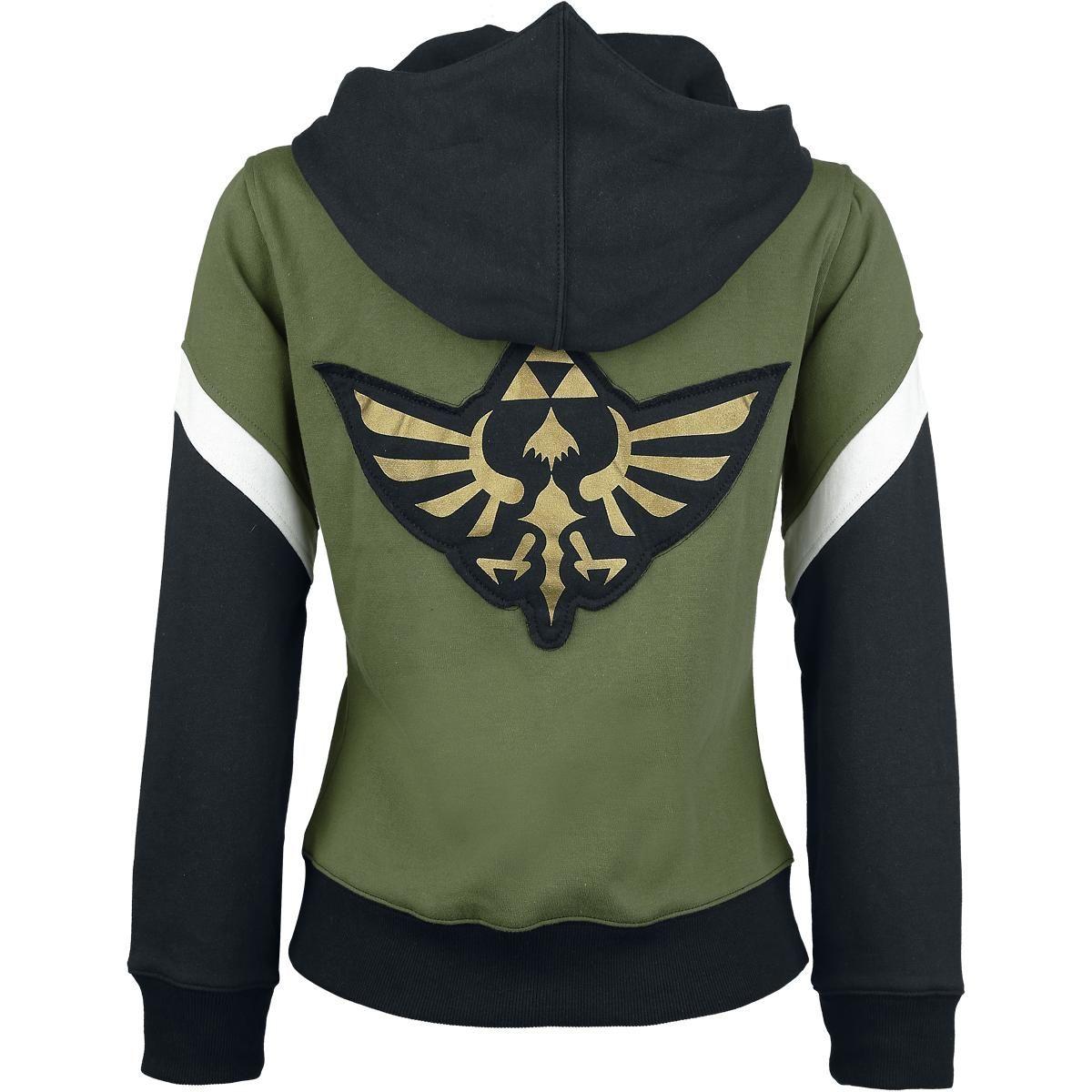Zelda Green Triforce - Chaqueta con capucha Mujer por Nintendo ...