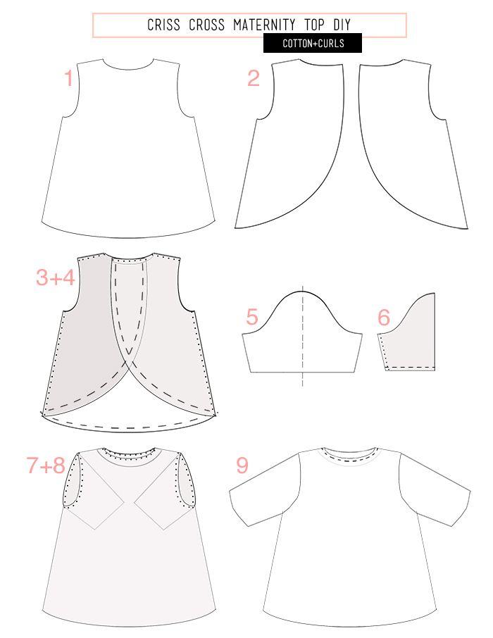 openback | Sew It Up | Pinterest | Costura, Corte y confección y ...