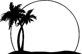 Palm tree outline. Image result for clip