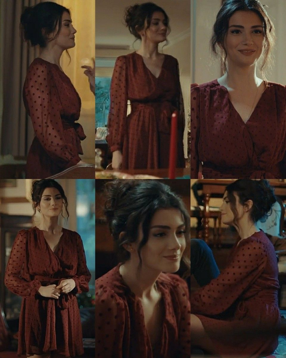 Serra 6 Episode Sol Yanim In 2021 Tv Show Outfits Movies Outfit Turkish Fashion