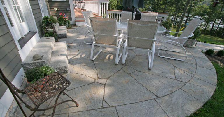Concrete Patio - Patio Ideas, Backyard For the yard in 2018