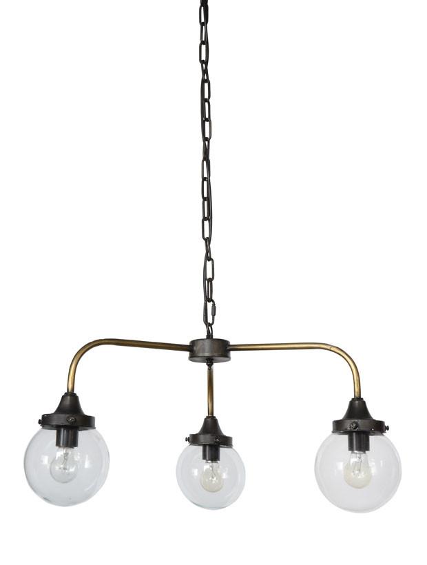Brass Finish 3 Bulb Pendant Light Bulb Light Fixtures Ceiling Lights