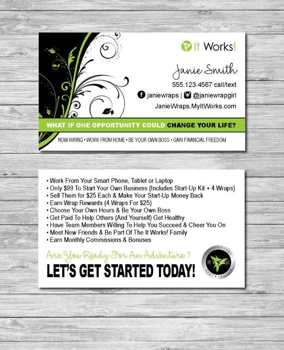 it works business cards – Etsy   It works info   Pinterest   It ...