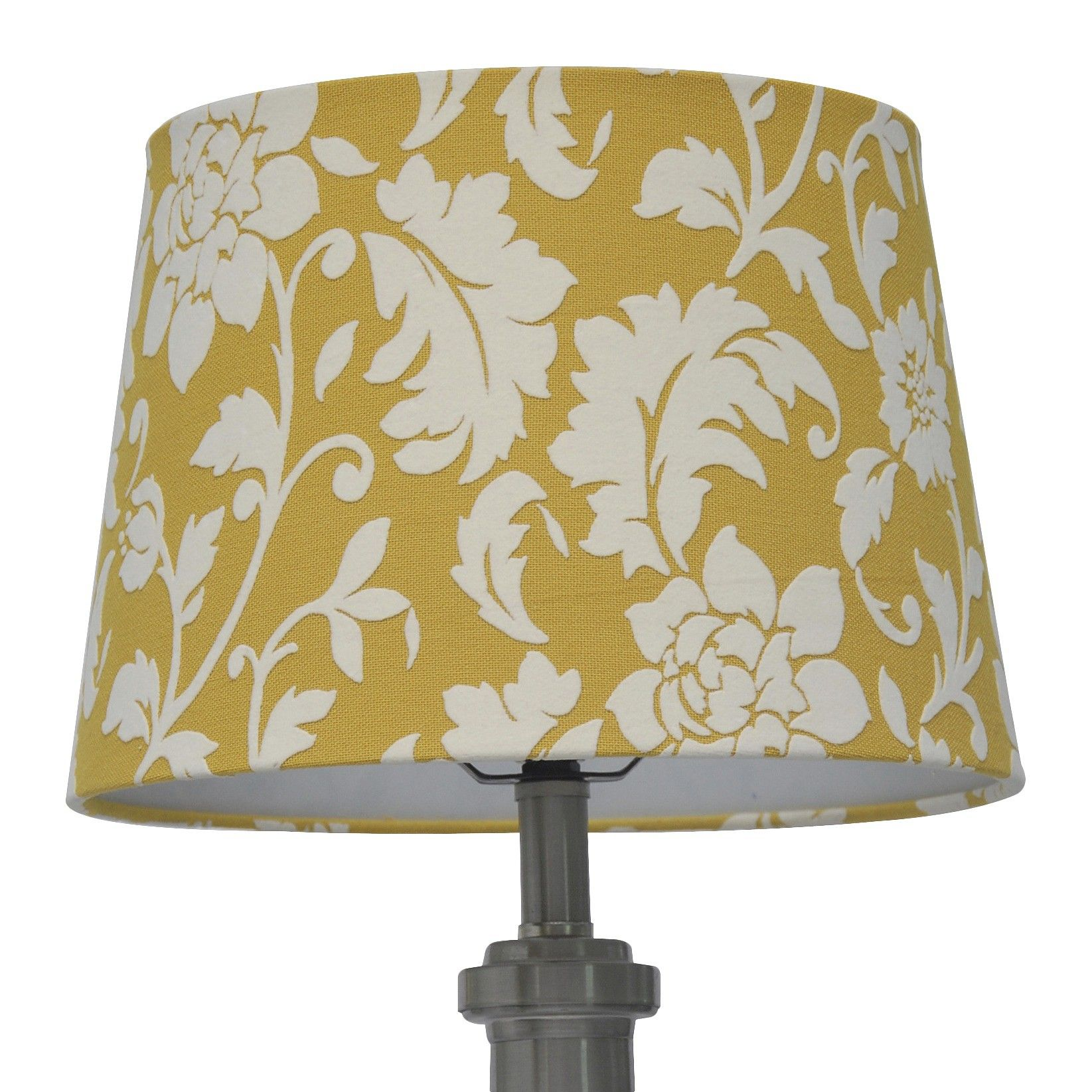 Threshold Flocked Damask Lamp Shade Large Summer Wheat Lamp Lamp Shade Shades