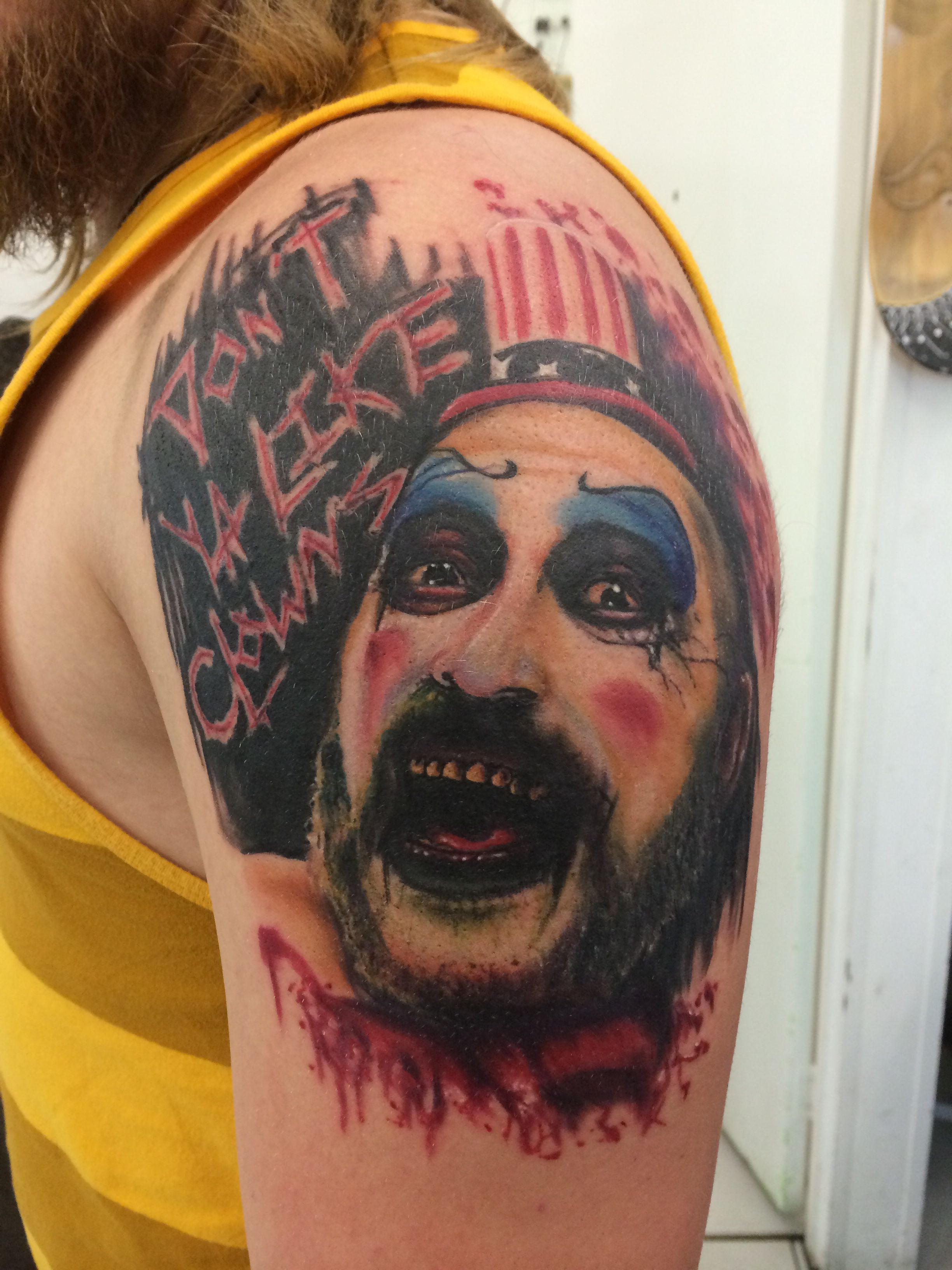 New house of 1000 corpses / devils rejects tattoo yes