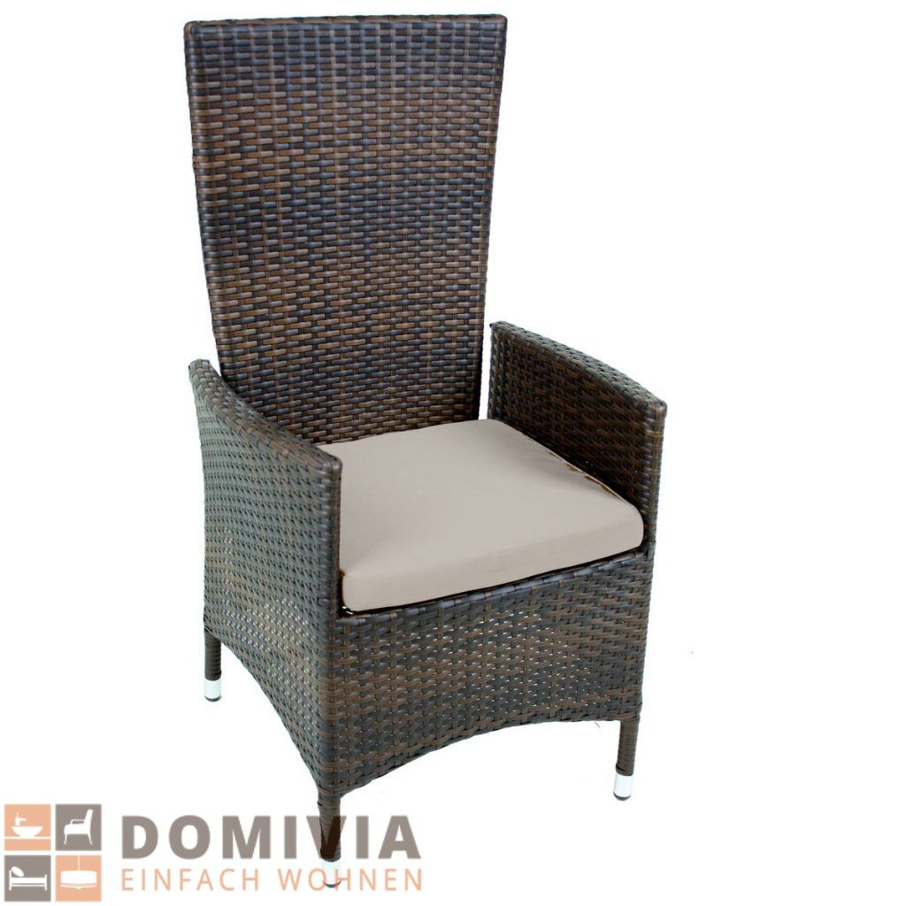 Attraktiv Sessel LEVANTE, Rückenlehne Verstellbar Gartenstuhl Gasdruckfeder