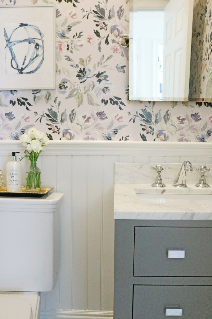 Photo of Powder Bathroom Makeover – Darling Darleen | A Lifestyle Design Blog