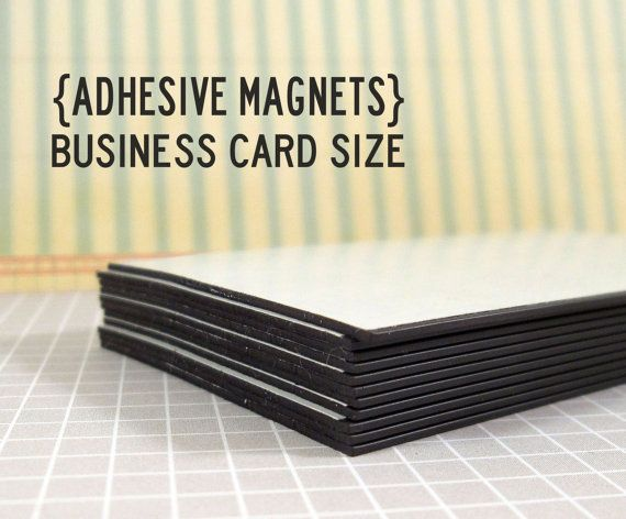 Qty 50 adhesive magnets business card size 35x2 pinterest qty 50 adhesive magnets business card size reheart Image collections